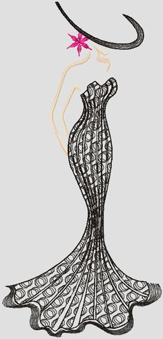 Stranger free embroidery design - Style - Machine embroidery forum
