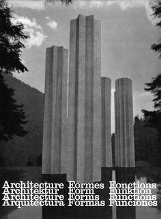 MATHIAS GOERITZ    DRAWING FOR THE CONCRETE SCULPTURE 'OSA MAYOR' / 'URSA MAJOR', BUILT IN MEXICO CITY, 1968