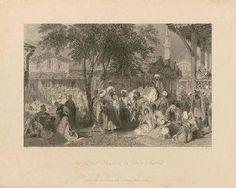 """The Aurut Bazaar, or Slave Market"" - Sir Thomas Allom  (available at www.prints.com)"