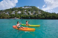 Kayaking is such a fabulous #honeymoon activity!