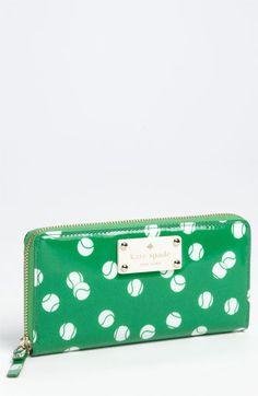 Kate Spade Tennis Wallet