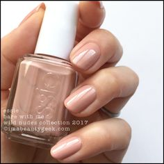 "Essie ""Bare With Me"" from the Wild Nudes 2017 Collection - nude #nail polish / lacquer / vernis 