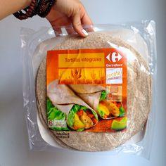 Supermercado: Carrefour Producto: Tortitas integrales Tipo de alimento: HC