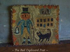 ~ The Red Cupboard Post ~ Pattern by Lori Brechlin Made by Kimberly Bouffard Of The Red Cupboard Post.