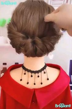 I wonder if my daughter will sit still long enough for me to practice these? I wonder if my daughter will sit still long enough for me to practice these? Easy Hairstyles For Long Hair, Up Hairstyles, Pretty Hairstyles, Braided Hairstyles, Hairstyle Ideas, Teenage Hairstyles, Curly Haircuts, Celebrity Hairstyles, Wedding Hairstyles