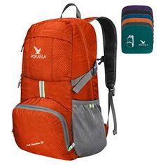 Orange Backpacks, Cool Backpacks, Hiking Backpack, Amazon, Bags, Women, Fashion, Handbags, Moda