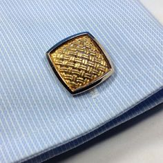 Estate 18k Cufflinks Solid Yellow Gold Classic Style Fine Estate Cuff Links #Unbranded