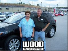 Jackie Smith of Everton, Arkansas with her new 2012 Nissan Murano SL AWD. September, 2013.