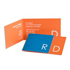 19 folded business cards that will give you ideas folded business monogram marvel business cards in luxe turquoise colourmoves