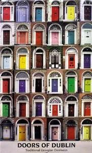Doors of Dublin. I love all the fun and colorful doors in Ireland. It made me want to come home and paint mine!