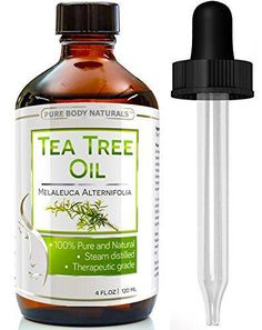 Organic Tea Tree Oil Australia - Huge Premium Quality 4 Oz 100% Natural & Pure Tea Tree Essential Oil - Therapeutic Grade - Tea Tree Oil for Acne, Psoriasis and Eczema, Toenail Fungus, and Ringworm - Benefits of Tea Tree Oil for Hair, Fights Dandruff and Lice, Soothes Dry Scalp - Works wonders as a natural antiseptic and has numerous skin benefits - Guaranteed to make you smile or your money back - Link at: https://twitter.com/TheMarketer2015/status/615944359696027649/photo/1