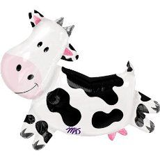 Cow Print Balloons (6) Party Supplies:Amazon:Toys & Games