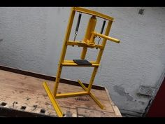 DIY | Hydraulic press - YouTube