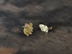 Mohawk General Store gold flake studs