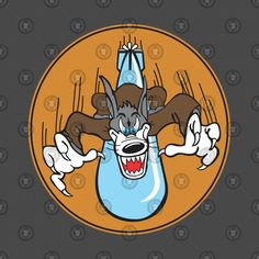 Shop US Navy Torpedo Squadron - Clean Style us navy t-shirts designed by as well as other us navy merchandise at TeePublic. Old School Cartoons, Retro Cartoons, Nose Art, Elements Of Art Line, Wolf Colors, Motorcycle Paint Jobs, Military Memorabilia, Werewolf Art, Pin Up