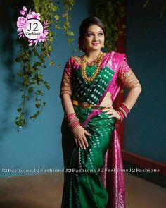 Sari, Bridal, Blouse, Pink, Fashion, Blouse Band, Saree, Moda, La Mode