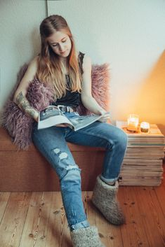 #cosy #living #home #room #scentedcandles #interior #slowliving #outfit #look #denim #tattoos