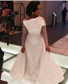 Looking for the pleasing Asoebi and Lace fashion outfits for wedding & engagement? Here are the top 30 most pleasing Asoebi styles and lace fashion Aso Ebi Lace Styles, Lace Dress Styles, African Lace Dresses, Latest African Fashion Dresses, African Lace Styles, Dream Wedding Dresses, Bridal Dresses, Bridesmaid Dresses, African Wedding Attire