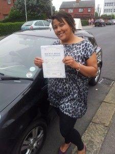 Congratulations to Tara - http://ultimatedriving.co.uk/congratulations-tara/