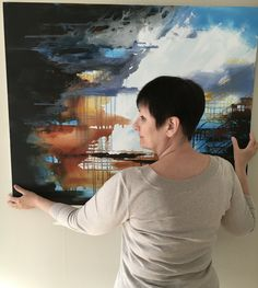 Ascension - a beautiful image on a large canvas with a lot of light and contrast Buy Paintings Online, Online Painting, Large Canvas, Beautiful Images, Contrast, Abstract, Art, Summary, Art Background