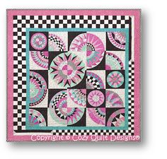 Rock and Roll Café by Nancy Selbrede Quilted by Nancy Selbrede