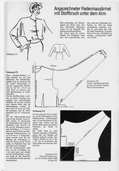 Schnittkonstruktion 01 - Blusas