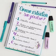 School Planner, Student Planner, Lettering Tutorial, School Motivation, Study Motivation, Self Help Skills, Stabilo Boss, Study Organization, Bullet Journal School