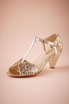 BHLDN Celeste T-Straps in  Shoes & Accessories Shoes at BHLDN