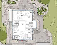 Voorbeeld plattegrond HUF-huis ART 3