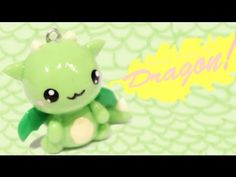 ▶ ◕‿◕Dragon! Kawaii Tutorial in Polymer clay!