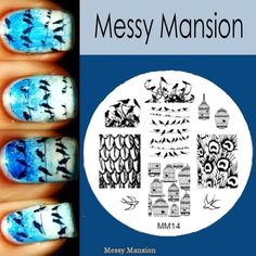 Messy Mansion - Image Plate MM14, $7.00 (http://www.messymansion.com.au/products/image-plate-mm14.html)