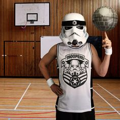 Stormtrooper Basketball Jersey