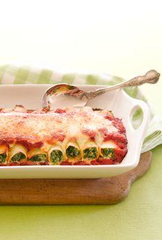 Spinach-Ricotta Cannelloni