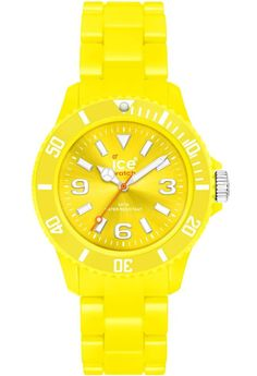 Montre Ice-Watch Classic Solid Yellow Small