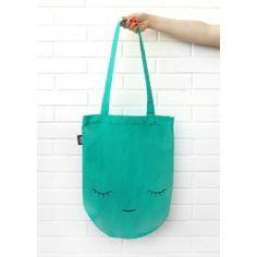 Tote Bag Creature Jade