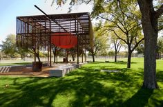 Pavilion at Cotillion Park; DallasMell /Lawrence Architects