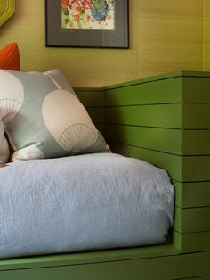 Custom Furniture in A Kids' Room Makeover the Whole Family Can Enjoy from HGTV