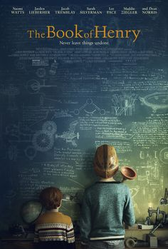 First poster arrives for 'The Book of Henry' starring Naomi Watts, Jacob Tremblay, Sarah Silverman, Maddie Ziegler, and Lee Pace. Good Movies To Watch, Great Movies, New Movies, Movies Online, Funny Movies, Movies Free, Family Movies, Movies And Tv Shows, Film Movie