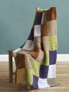 Free Crochet Pattern: Applegarth Afghan ~ don't usually pin blanket patterns but I love the colors in this blanket