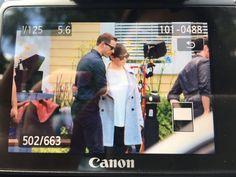 "Josh Dallas and Ginnifer Goodwin - Behind the scenes - 6 * 1 ""The Savior"" - 12th July 2016"