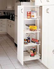Rev-A-Shelf - Base Cabinet Pullout Wire Pantry Sink & Base Accessories