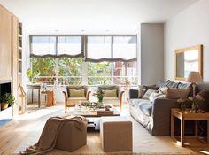 Una casa con muchos papeles pintados Country Living, Home Interior Design, Blinds, Design Inspiration, Windows, Curtains, Furniture, Home Decor, Porches
