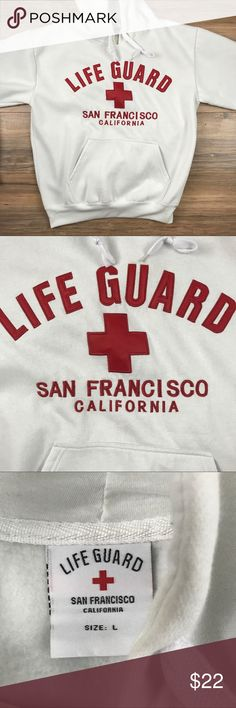 Lifeguard Sweater Stitched Size L You are buying a life guard Sweater from San Francisco CA. Stitched in great condition. Size L life guard Sweaters