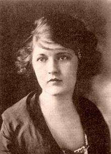 Zelda Fitzgerald (Montgomery, Alabama, Estados Unidos, 24 de julio de 1900 - Asheville, Carolina del Norte, Estados Unidos, 10 de marzo de 1948), nacida con el nombre de Zelda Sayre, fue una escritora estadounidense.