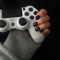 これはよさそうだ! - Everything About Playstation Cool Ps4 Controllers, Game Controller, Control Xbox, Cover Design, Playstation Plus, Gamer Room, Gaming Wallpapers, Gaming Setup, Aesthetic Girl