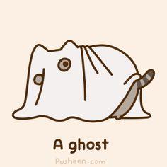 Ghost Pusheen