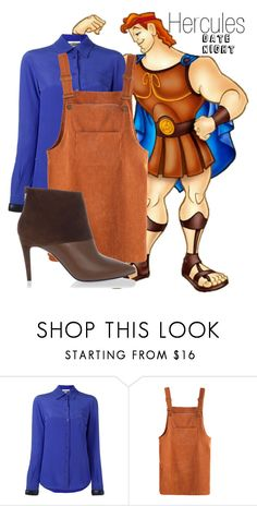 """Hercules~ DisneyBound"" by basic-disney ❤ liked on Polyvore featuring Disney, Moschino and Pierre Hardy"