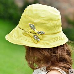 923c477ee05 Wide brim bow bucket hat for women UV summer wear. Best Sun Protection HatsRoyal  ...