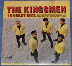 The Kingsmen 15 Great Hits LP  Wand Record Mono W 674