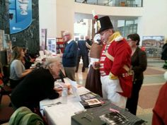The 100th Regiment is in the house for Heritage Day - February 18, 2014